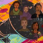"""Diversity, Women, and Power"" Illustration by Yesenia Cortinas #MeToo"
