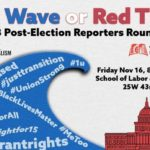 Blue Wave or Red Tide? 2018 Post-Election Reporters Roundtable